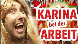 Karina bei der Arbeit - Weihnachts-Shop !!! thumbnail