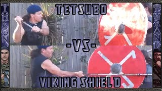 Deadliest Warrior : Thrand Test Kanabo(Tetsubo) Against Viking Shield - The Final Word