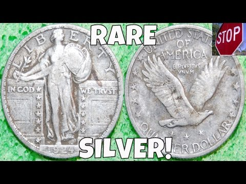 RARE SILVER QUARTER DUG + MYSTERY ATTIC COIN! | Metal Detecting USA: Episode 15 | November 2015