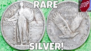 RARE SILVER QUARTER DUG + MYSTERY ATTIC COIN! | Metal Detecting USA: Episode 15 | November 2015