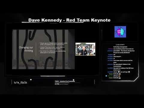 TMHC Isolation Con 2020, Red: Keynote By Dave Kennedy