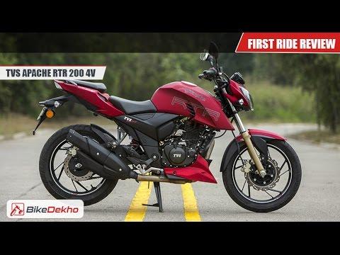 2016 Tvs Apache Rtr 200 First Ride Bikedekho Com 1320