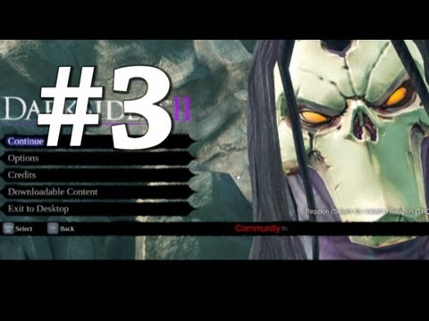 Darksiders 2 - Tears Of The Mountain Ep. 3 w/commentary