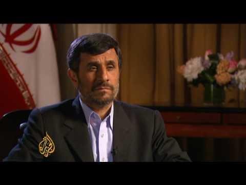 Mahmoud Ahmadinejad on Iran-US relations