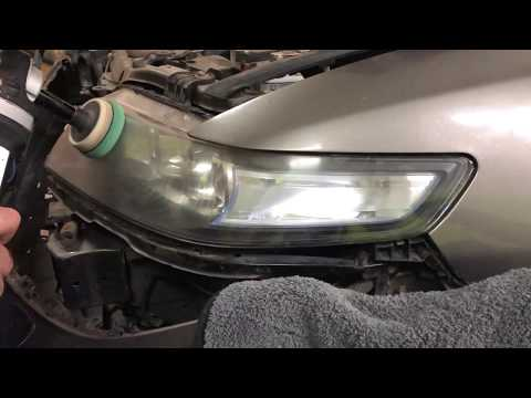 Honda Accord / Полировка оптики