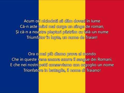 Deșteaptă-te, române - l'inno nazionale della Romania (testo)