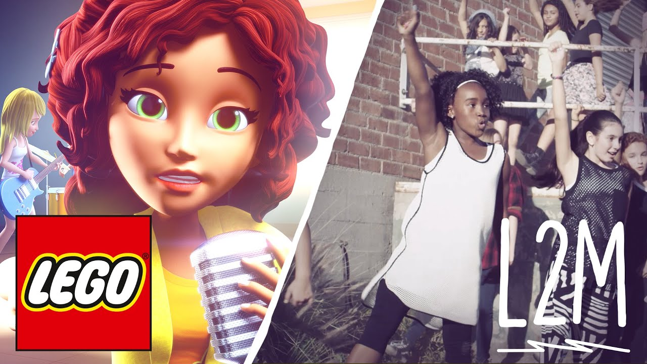 L2m And Lego Girlz 4 Life Music Video Youtube