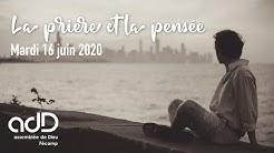 Prière et pensée • Mat 22:37 [adD Fécamp]