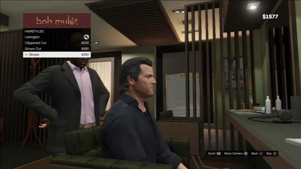 Grand Theft Auto V: Michael's Haircuts/Beards - Bob Mulét ...