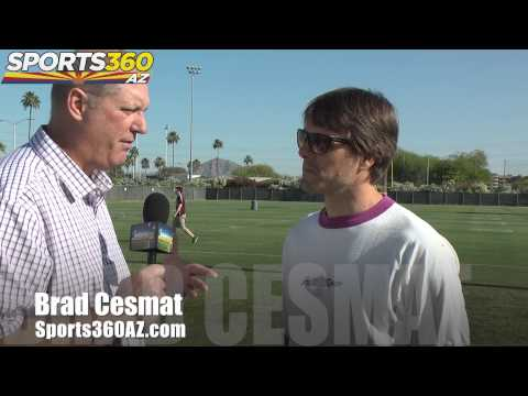 Jake Plummer excited over prospects at ASU spring football