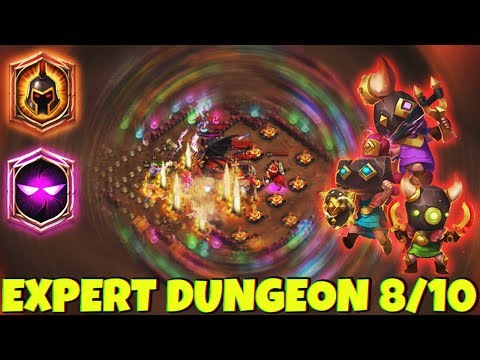 Rowdy Rascals | 8 WG | 7 Unholy Pact | EXPERT DUNGEONS | CASTLE CLASH