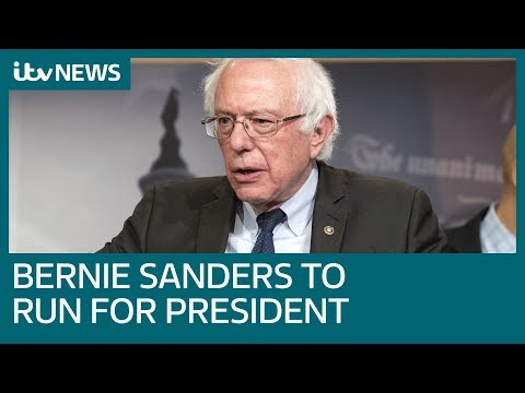 Bernie Sanders running for president in 2020 | ITV News Mp3