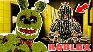 Play as Springtrap and Phantoms in Five Nights at Freddy's 3 Roleplay - FNAF Roblox