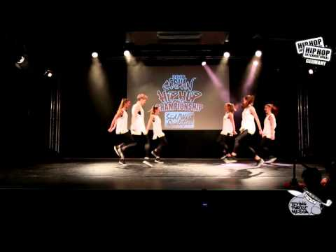 Diamonds - German Hip Hop Dance Championship 2016 Süd/West Qualifier Germany , Ingolstadt