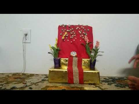 SMM Kids Camp 2020 Ganapati Decorations