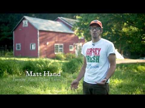 Matt Hand: Hand Picked Farm Organic CSA, Flanders, NJ