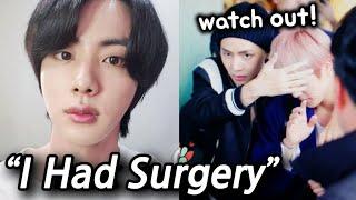 BTS JIN's Sudden Surgery Confession Surprised ARMYs..?