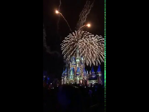 Happily Ever After Firework Show in WDW Magic Kingdom