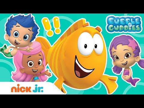 Mr. Grouper's Top 5 Greatest Lessons🍎| Bubble Guppies | Nick Jr.