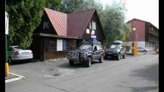 Jeep  expedice Rumunsko, den prvni