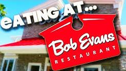 EATING AT - BOB EVANS RESTAURANT - ORLANDO