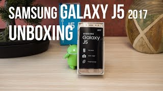 Samsung Galaxy J5 (2017) special unboxing and first look