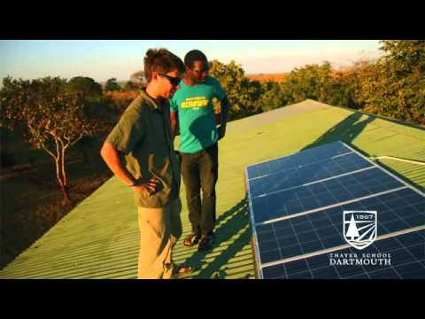 Dartmouth Engineering in Africa  Malawi Solar Power Project flv 360p)