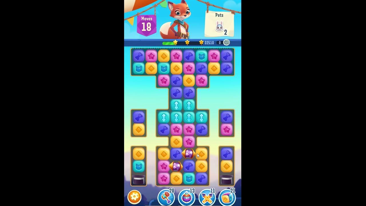 Pet Rescue Puzzle Saga Level 605 Youtube