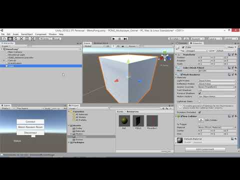 Unity + Photon: Pong Multiplayer Online Parte 4/5