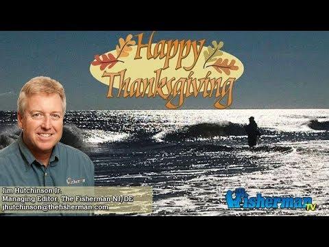 November 22, 2017 New Jersey/Delaware Bay Fishing Report with Jim Hutchinson, Jr.