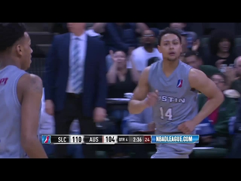 Highlights: Bryn Forbes (30 points)  vs. the Stars, 3/5/2017