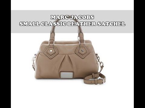 41a158924b6 Marc by Marc Jacobs Small Classic Leather Satchel Handbag Review ...