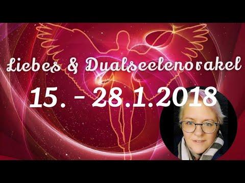 Liebes & Dualseelen ORAKEL 💖 15. - 28.1.2018 | Medium Claudia Luka