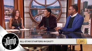 Scottie Pippen, Tracy McGrady and Rachel pick their All-Star starters | The Jump | ESPN