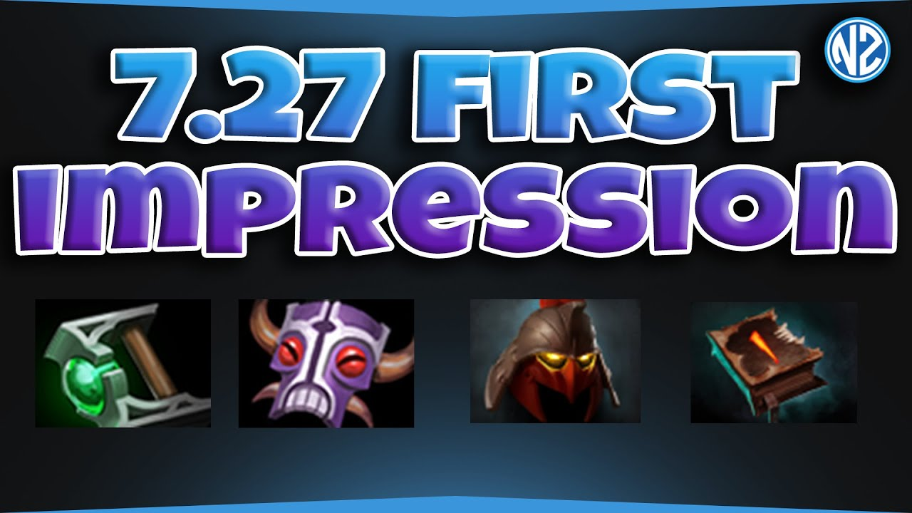 Patch 7.27 Major changes to the Dota 2 ...