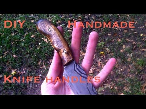 Handmaking Wooden Knife handles! (DIY How to)