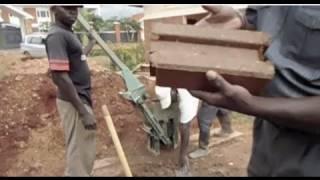 Interlocking Stabilized Soil Blocks_CITIES exhibition