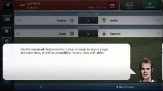 Football manager handheld 2014 for android