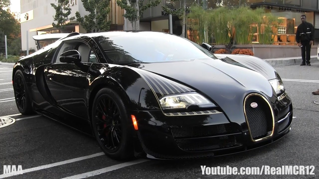bugatti veyron grand sport vitesse black bess walkaround youtube. Black Bedroom Furniture Sets. Home Design Ideas