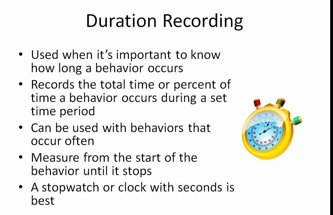 Behavior Data - Collection Types - YouTube