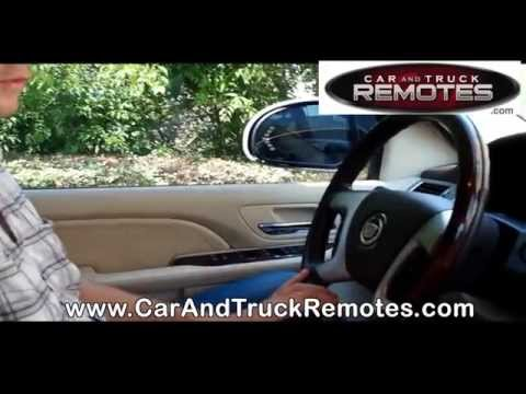 Buick Enclave Replacement Remote Programming 2008 2010