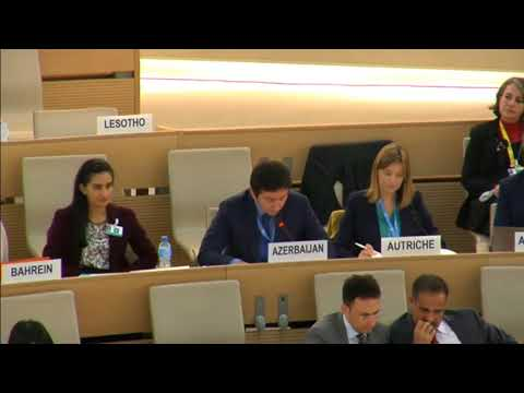 Statement by Yalchin Rafiyev - ID: Working Group African Descent, 31 M, 36 RS HRC, 26 Sep 2017