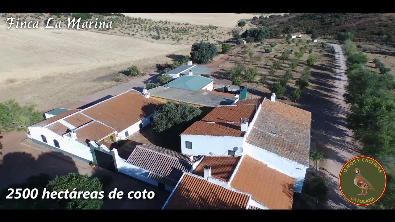 Ojeos y Cacerías La Solana - Finca La Marina - YouTube