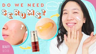 Best Ways to Use Serums, Essence & Ampoules In Your Skincare Routine (ft  Clarins) + FAQs