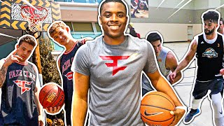 FaZe Clan Challenged By A Professional Basketball Player
