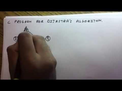 C Program (Dijkstra's Algorithm)