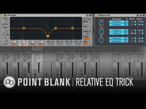 Ableton Live Tutorial: Relative EQing using Max for Live