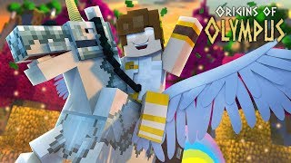 """Minecraft Origins of Olympus - """"GIFT FROM THE GODS!"""" #3 (Minecraft Percy Jackson Roleplay)"""
