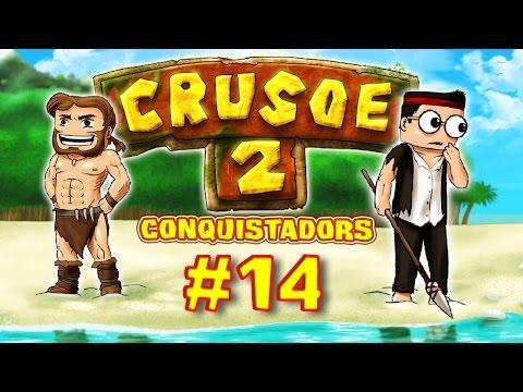 CRUSOE 2 - Ep. 14 - Sauvetage de canasson - Fanta et Bob dans Minecraft