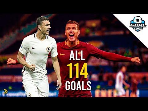 Edin Džeko - Welcome to Inter? All 114 Goals for Roma